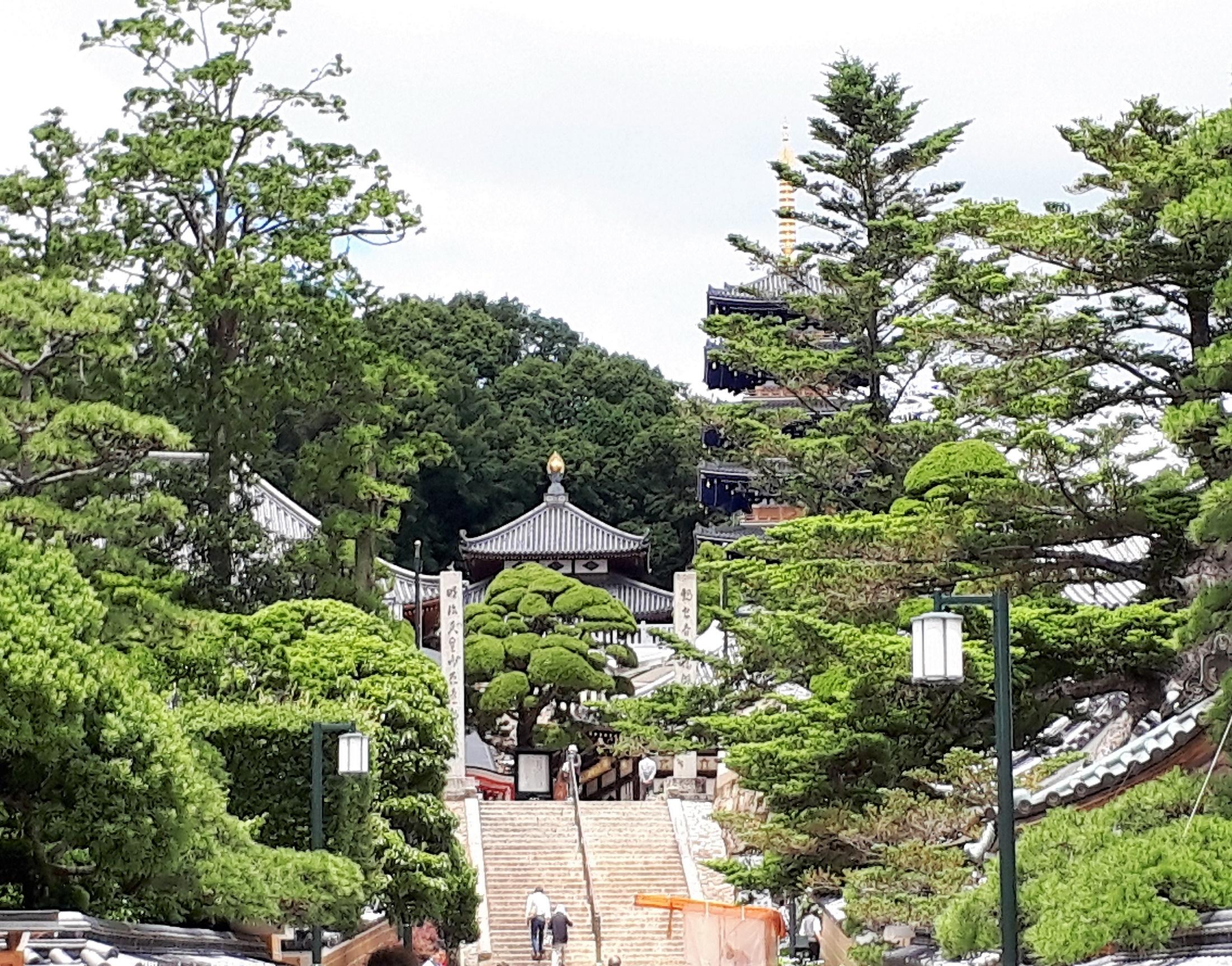 山門より(中山寺)