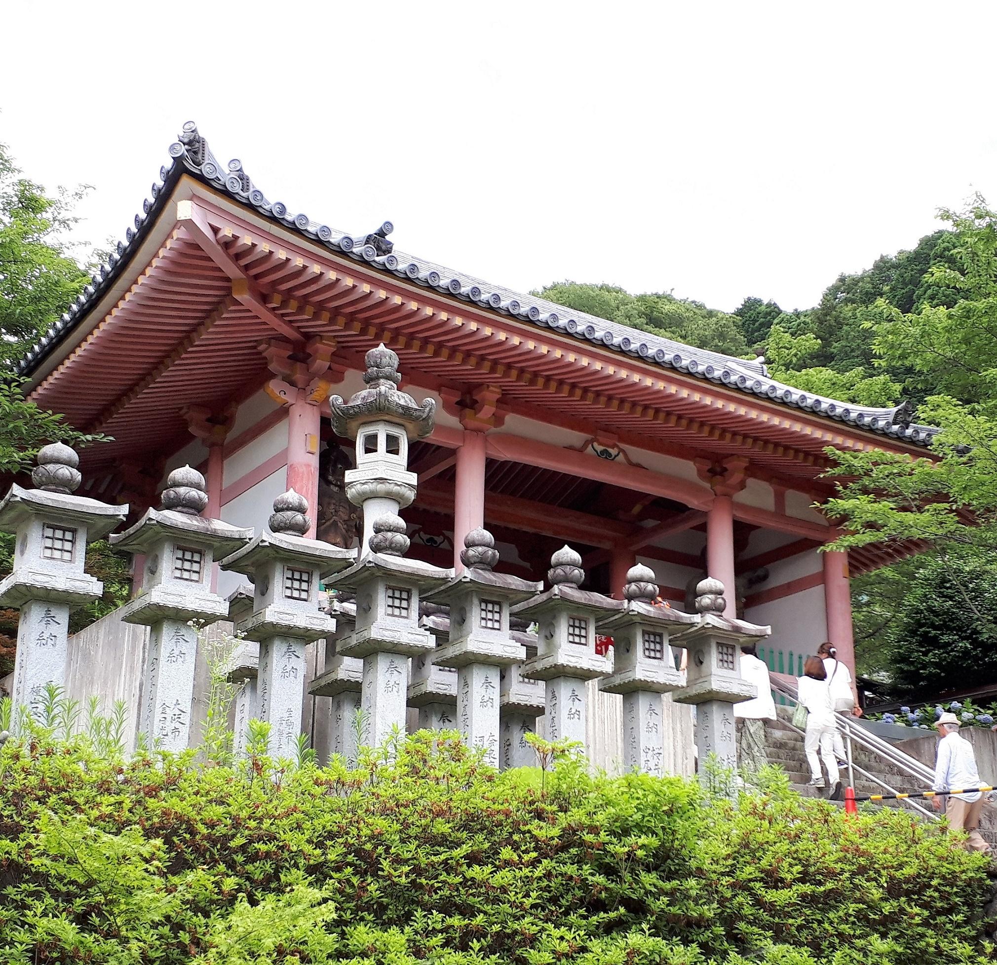 山門(壺阪寺)