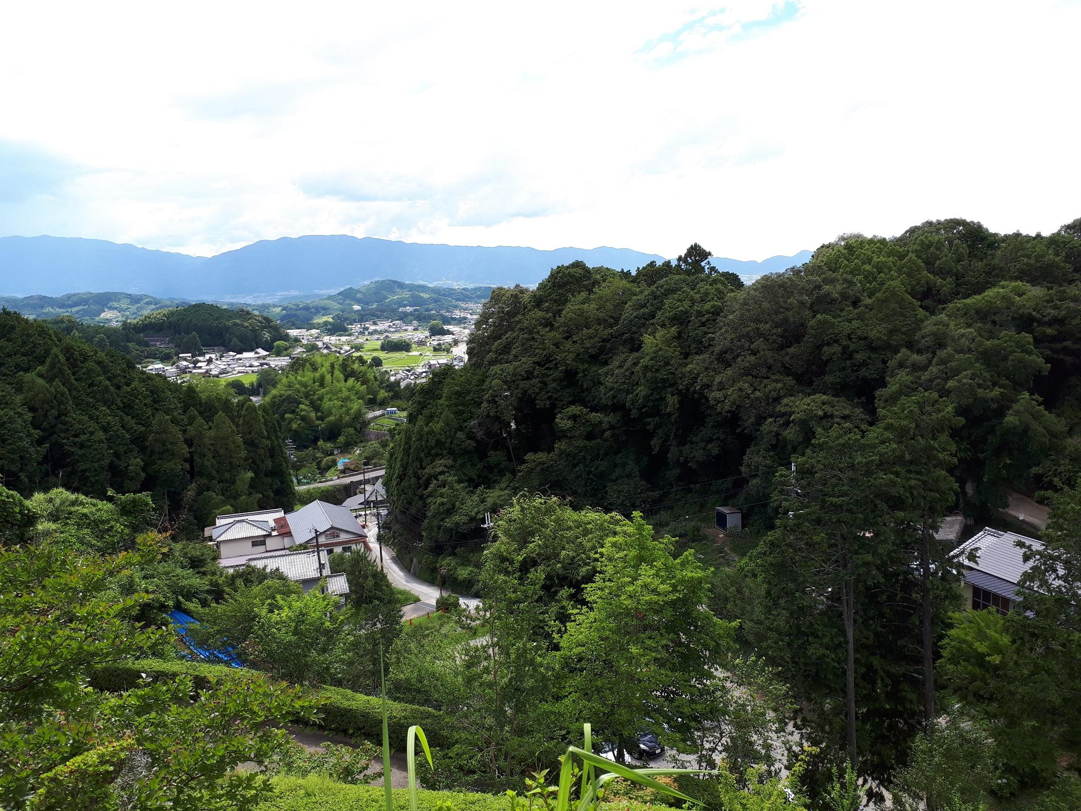 明日香の風景(岡寺)