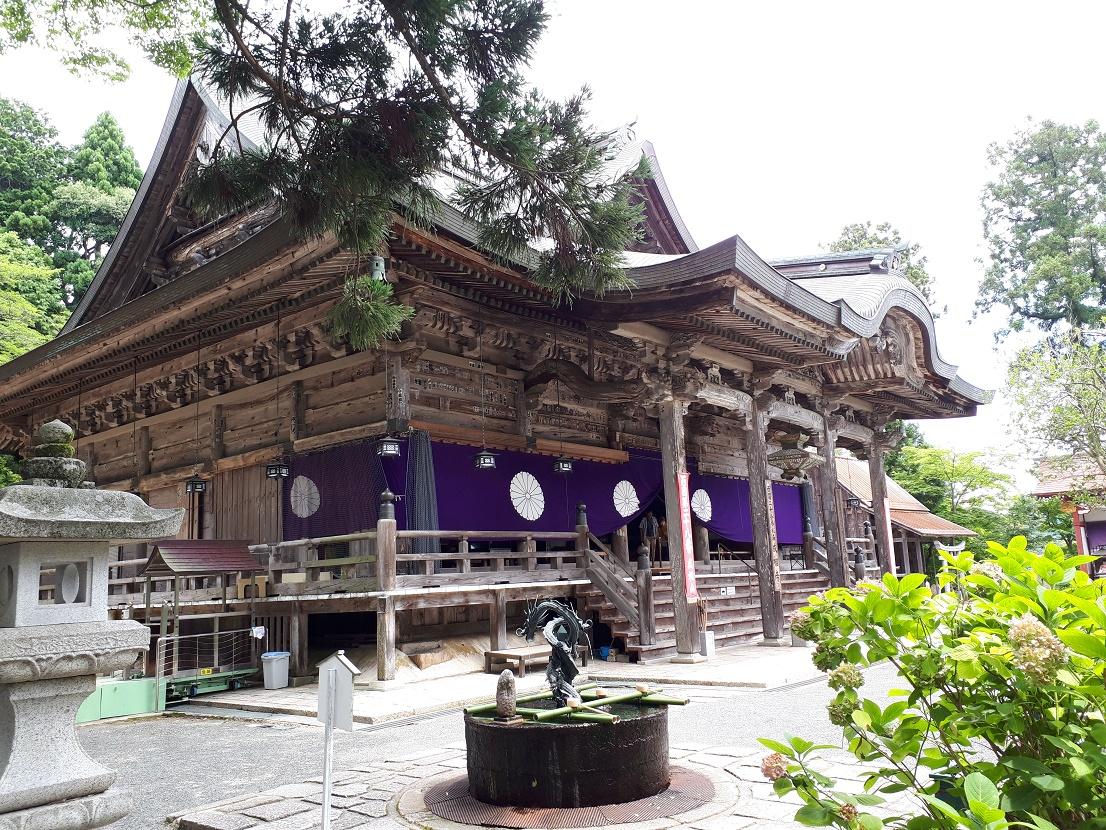 本堂(成相寺)